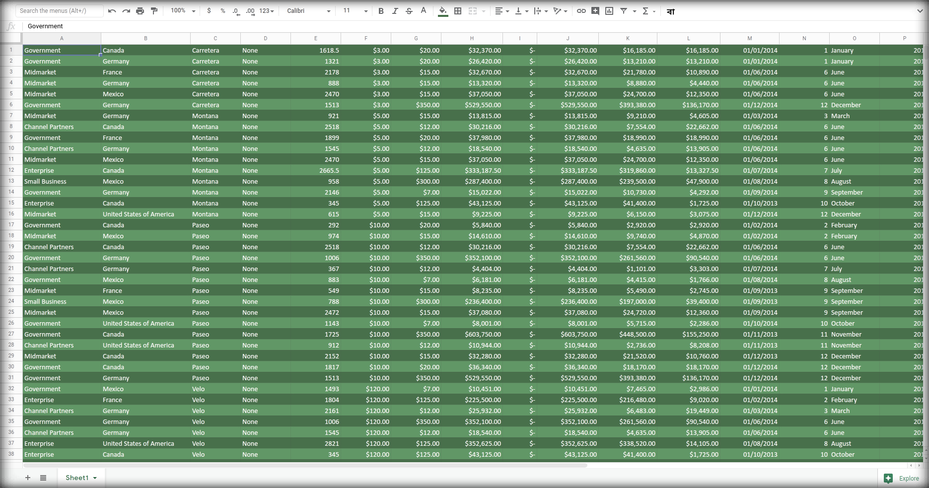 From CSV to Google Sheet Using Python